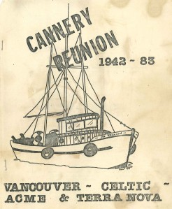 Cover of Program for the 1983 Reunion. City of Richmond Archives Accession 2014 4