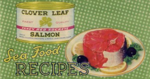 """Sea Food Recipes"", ca. 1955. City of Richmond Archives RL258"