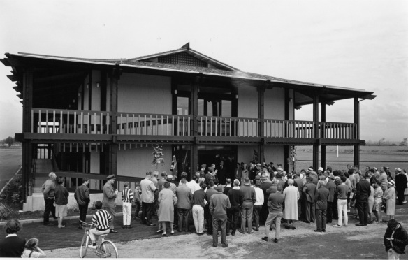 Opening of Minoru Sports Pavilion, 1964. City of Richmond Archives Photograph 1978 32 40