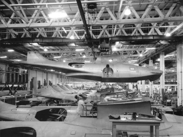 1942-1985 199 1 Boeing plant