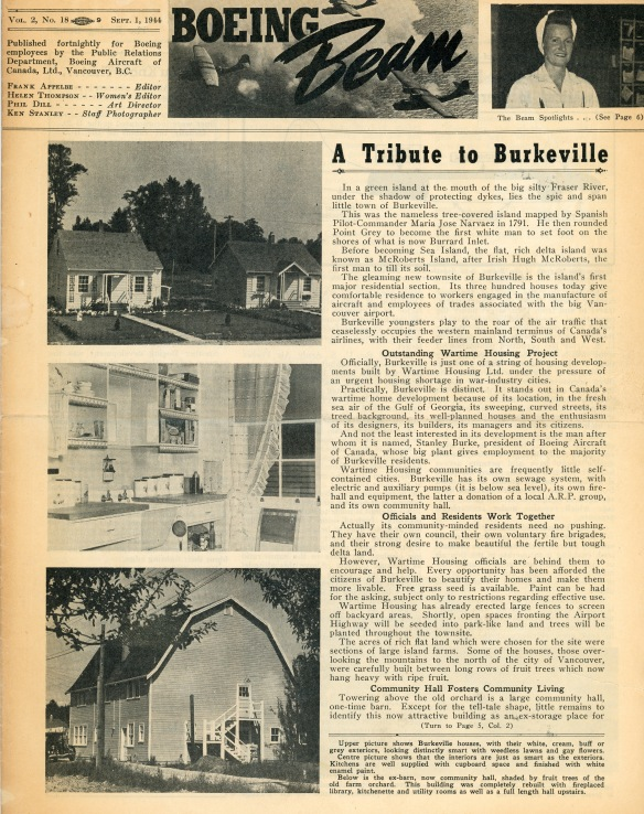 Boeing Beam - Vol. 2 No. 18 Burkeville