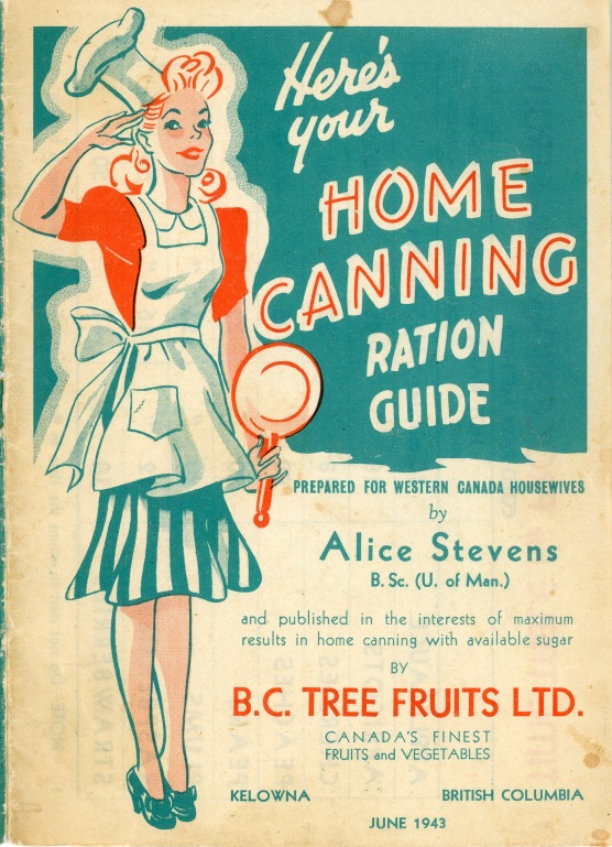Home Canning Ration Guide